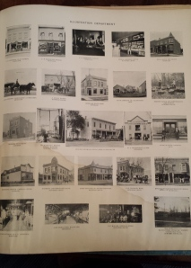 Buildings and homes from Dupage County around the turn of the century.