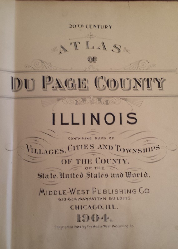 Atlas - Dupage County Illinois