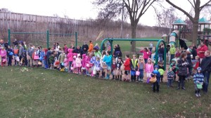 Clarendon Hills Easter Egg Hunt