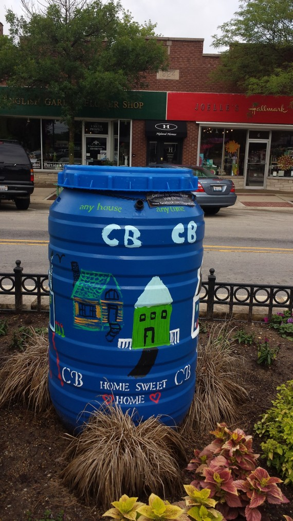 Coldwell Banker Rain Barrel