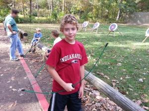 Micah at Indian Guides