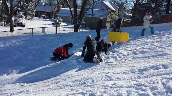 Building the Bump! Park Avenue Park Clarendon Hills Snow Hil