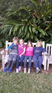 Noah and his siblings: Elizabeth, Abigail and Micah