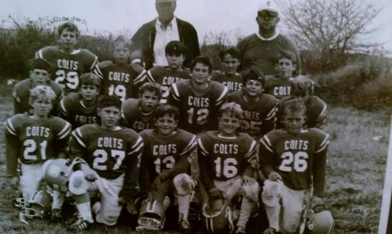 The very beginning of my understanding of sports - Colts Circa 1970