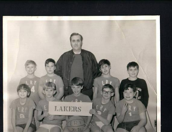 Dad, always the coach