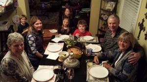A celebratory dinner!