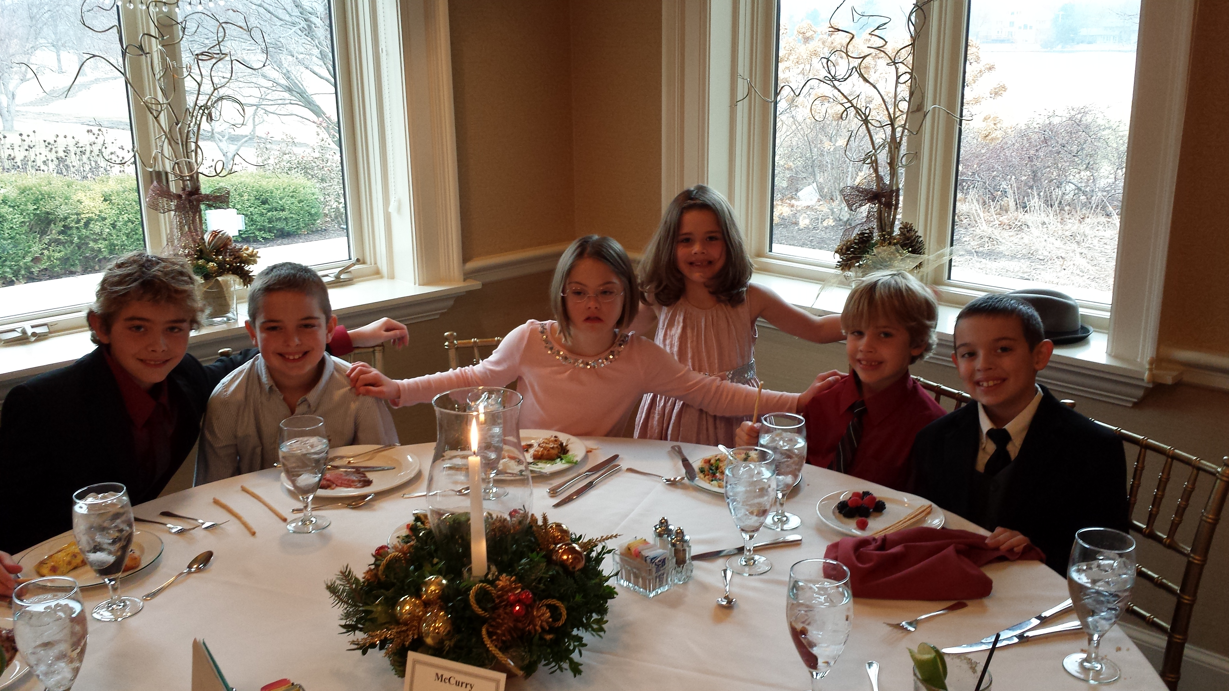 The clarendon courier mike mccurry 39 s daily blog for Fancy at home dinners